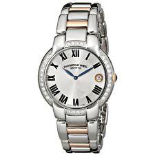 RAYMOND WEIL Jasmine Gold Diamond Ladies Watch 5235-S5S-01659 - RRP £2550 - NEW