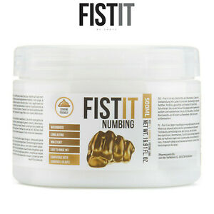 Fist It Lubricant 500ml Numbing Water Based Lubrificante Base Acqua Paralizzante