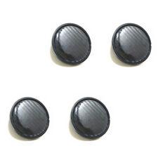 4PCS 60mm/58mm Carbon Fiber Surface Car SUV Wheel Center Hub Caps Cover Dossy