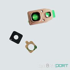 Samsung GALAXY a3 a5 a7 2017 fotocamera lente vetro quadro LENS FRAME Rosa
