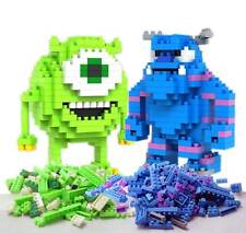 2 Different Sets of LOZ Diamond Blocks Nano Mini Building Blocks Building Toys