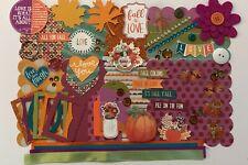 Fall in Love Custom Chipboard Mini Book Album Kit Scrapbook Autumn