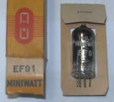 electronic tube EF91 (equivalent  Z77 = 6F12 = 8D3 = 6AM6 = N79 = CV138) Philips