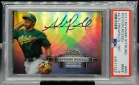 2012 Bowman Sterling Prospect Refractor Auto 096/199 Addison Russell PSA 9 MINT
