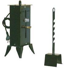 Girarrosto sardo elettrico acciaio 1 spiedo 14x13 altezza regolabile