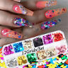 Nail Art Butterfly Glitter Sequins Nail Decor Holographic Laser 3D Flakes Hot UK