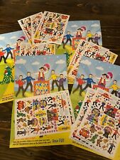 The Wiggles Concert Pop Go The Wiggles Live! Seat Giveaway, 11 Sheets Stickers