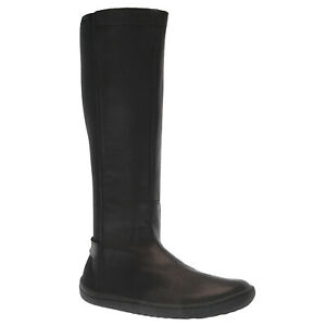 Vivobarefoot Womens Boots Ryder Foldable Zip-Up Calf-length Riding Leather