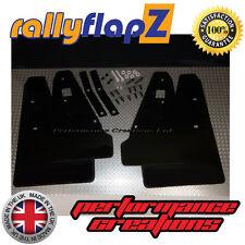 Mud Flaps MITSUBISHI LANCER RALLIART SPORTBACK (08 on) rallyflapZ Black 4mm PVC