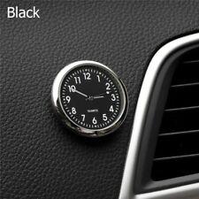 Luminous Car Dashboard Air Vent Stick-On Time Clock Quartz Analog Watch Black DT