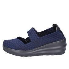 scarpe donna CRISTIN 39 EU ballerine blu tessuto BX630-39