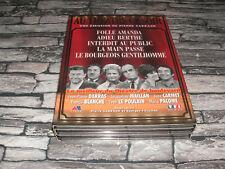 ADIEU BERTHE +MAIN +AMANDA +BOURGEOIS +INTERDIT COFFRET 5 DVD AU THEATRE CE SOIR