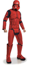 "Red Stormtrooper Mens Fancy Dress Costume Star Wars Ep 9 - Chest 46"" NO HELMET"