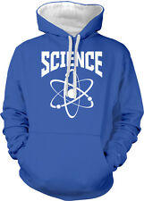 Science Atom Symbol Scientist Lab Teacher Nuclear Use Two Tone Hoodie Sweatshirt