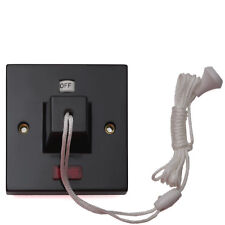 eXalt Brand Brown Bakelite Ceiling Pull Cord Shower Switch DP 45 A 240V