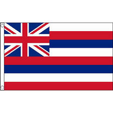 Hawaii Small Flag 3Ft X 2Ft Hawaiian Beach Party Banner With 2 Eyelets New