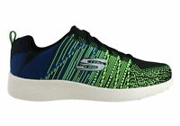 NEW SKECHERS MENS BURST IN THE MIX COMFORTABLE MEMORY FOAM SPORT SHOES