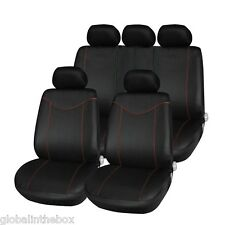 11pcs Car Low-back Seat Cover Set Water-resistant Anti-Dust Cushion Protector