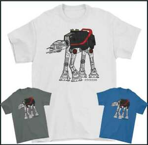 A-TEAM T-SHIRT, ATAT Star Wars Parody Movie 80's TV Show Mens Funny TEE TOP Yoda