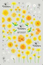Dandelion Nail Stickers XF3337