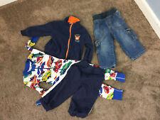 LOT Gymboree Hanna Andersson Boys 18 24 Carters Fleece Jacket Pj's Jeans Pants