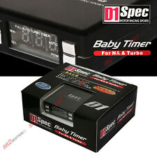 D1 Spec Digital Display Mini Turbo Timer Controller Black fits Honda / Acura