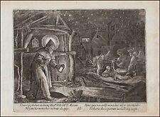 Saint Elphegus of Winchester England - Temptation Memento Mori Vanitas