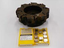 Sandvik Ra2852 160 25 Face Mill Spkn 43edr K8735 Carbide Inserts B522