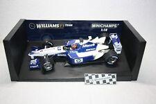"Williams F1 FW24 # 6 Montoya ""2nd Half of Season"" • 2002 • Minichamps • 1:18"