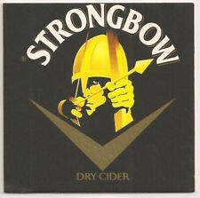 Strongbow Cider - Bierdeckel Logovariation 1