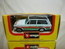 BBURAGO 4156 RANGE ROVER TEAM CASTROL - WHITE 1:43 - GOOD CONDITION IN BOX