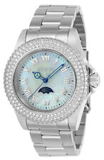 Invicta Women's Watch Sea Base White MOP Dial Stainless Steel Bracelet 23829