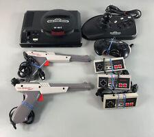 Mega Lot: Sega Genesis 16-Bit Power Stick, Nintendo Controller +Zapper LightGun!