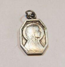 Médaille de Lourdes plaquée argent