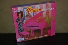BRAND NEW VINTAGE GLORIA BARBIE FURNITURE PLAY SET GRAND PIANO