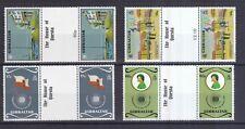 Gibraltar 1983 postfrisch Stegpaare MiNr. 459-462