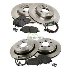 LAND ROVER DISCOVERY 3 2.7 TDV6 (2004-09) FRONT AND REAR BRAKE DISC AND PAD KIT