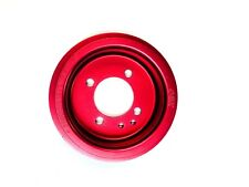 OBX Red Crank Pulley for 1.8L 94-97 Mazda Miata, 92-95 MX-3, 91-96 Ford Escort