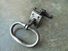 Ancienne poignée de porte clenche en fer forgé heurtoir,serrure ferrure
