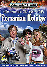 Coronation Street - Romanian Holiday (DVD, 2009) new and sealed freepost