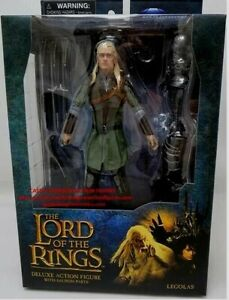 Legolas Lord Of The Rings Diamond Select Deluxe Series 1