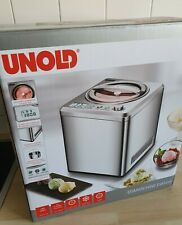 UNOLD 48872 Eismaschine  Edelstahl, 180 Watt