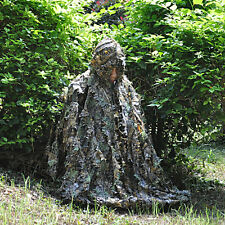 Hunting Hunter 3D Camo Camouflage cloak Ghillie Sniper Woodland Clothing hoodie