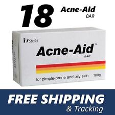 18x Stiefel Acne-Aid Bar 100g pimple-prone and oily skin Acne Aid Soap EXP:02/20