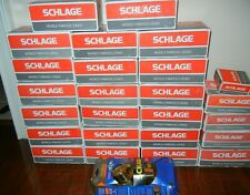 Lot of 26 Schlage Door Lock Sets - Bright Polished Brass - New in Boxes
