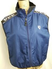 Pearl Izumi Mens Vest Cycling Sleeveless Jacket Reflective Mesh Full Zip L Blue