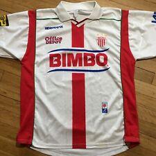 Club Necaxa Rayos Atletica Soccer Jersey Top Shirt Mexico Futbol Bimbo Size M