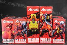 TFC Transformers ARES Predaking Full Set PHLOGEUS AETHON NEMEAN PHOBUS CONABUS