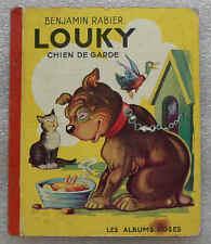 """Louki chien de garde - pour collectionneur de livres """"vintage"""""""