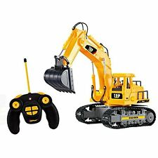 Channel Full Functional Rc Excavator, Battery Powered Electric Rc Remote Control